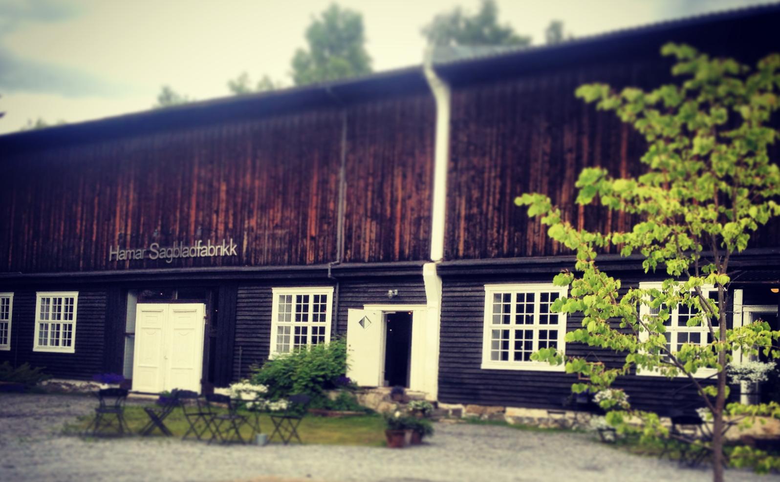 Hamar Sagbladfabrikk Galleri bryllup event Martodden Domkirkeodden