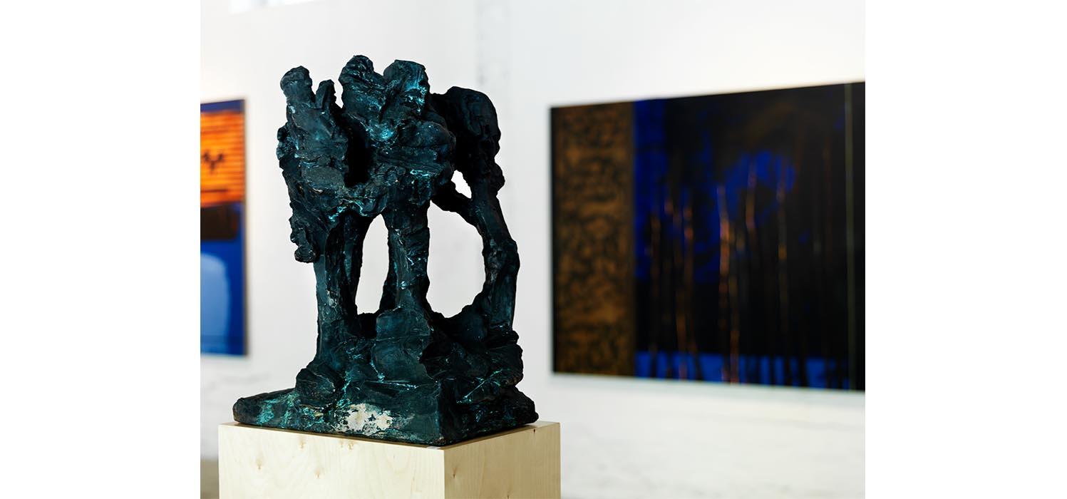 Kjell Nupen skulptur Hamar Sagbladfabrikk